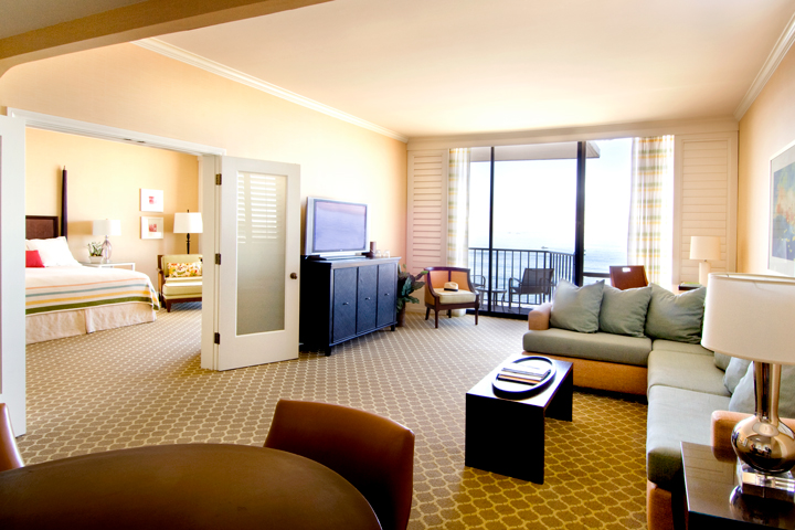 Oceanfront Resort Suite